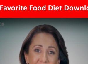 Favorite Food Diet Book Download